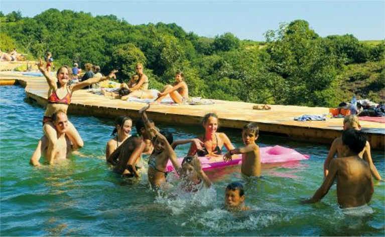 Gr7 sources du canal du midi rigole ombrag e pays de for Camping a carcassonne avec piscine